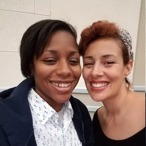 alycia glaude and partner michelle, ybarra events, lgbtq wedding planner